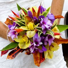 Love the beautiful mix of colors in this Floral Bouquet