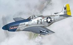 An admiration of the beauty of the classic warbirds. Ww2 Fighter Planes, Fighter Aircraft, Fighter Jets, Military Jets, Military Aircraft, Propeller Plane, Lighthouse Pictures, P51 Mustang, Ww2 Aircraft