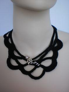 crocheted piece
