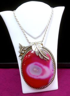 Amazing Botswana Fancy Red & Pink Agate Large by HoiPolloiGallery,