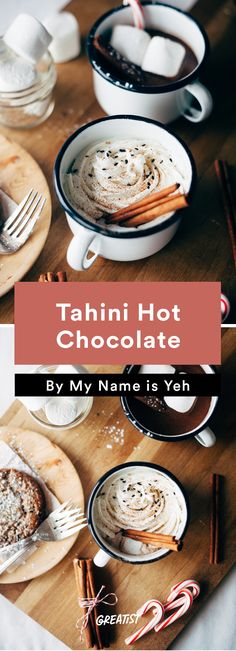 1. Tahini Hot Chocolate #warm #drinks #recipes http://greatist.com/eat/warm-drink-recipes-better-than-a-pumpkin-spice-latte