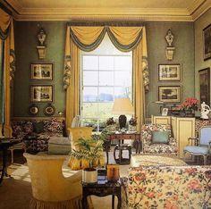 Victorian Interiors, Modern Victorian, House Interiors, Victorian Rooms, Victorian Era, House Drawing, Drawing Room, Formal Living Rooms, Living Room Modern