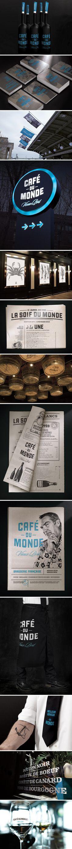 Café du monde branding by lg2boutique