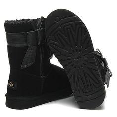 UGG Short Josette 1003174 Black Boots