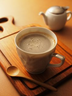 Here's your cup of coffee... 2 sugars and 3 creamers... with a shot of hazelnut.... just like you like it!!