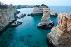 Lecce, faraglioni di sant'Andrea