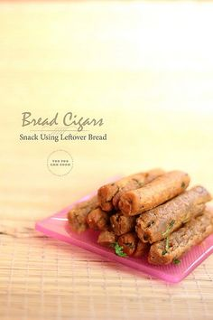 Easy peasy deep fried snack using leftoveror fresh bread. Filled with simple Indian flavors...