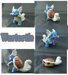 Weekly Sculpture: Wartortle by ClayPita