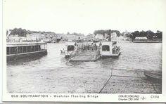 Hampshire Postcard - Old Southampton - Woolston Floating Bridge  U752