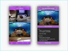 20 Example of Hotel App UI Design for Inspiration Hotel App, App Ui Design, Mobile Ui, Wall Design, Inspiration, Biblical Inspiration, Inhalation
