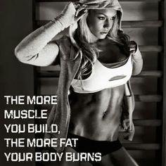Build muscle - burn fat!!!