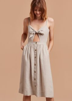 Wilfred Adelia Dress, $135; at Aritzia   Coachella fashion outfit ideas 2017