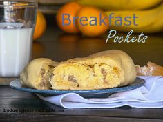 These Sausage and Egg Breakfast Pockets are one of my favorite make ahead breakfast ideas. Freeze, reheat, and out the door in minutes!