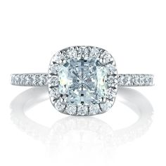 A.Jaffe Diamond Engagement Ring