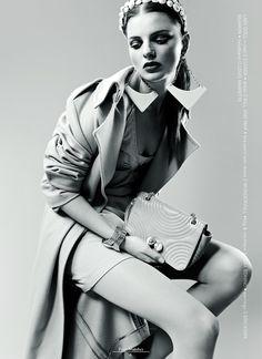 """Like A Doll""   Model: Melissa Dell, Photographer: Oly Barnsley, Volt Magazine, March 2012"