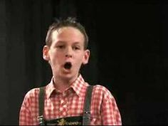 """14-year-old boy singing the """"Queen of the Night"""" aria from Mozart's """"The Magic Flute.""""  WOW!"""