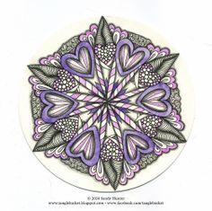 • ❃ • ❋ • ❁ • tanglebucket • ✿ • ✽ • ❀ •: Weekly Challenge 154: valentanglin'.