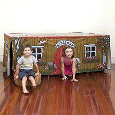 Table cubby house!