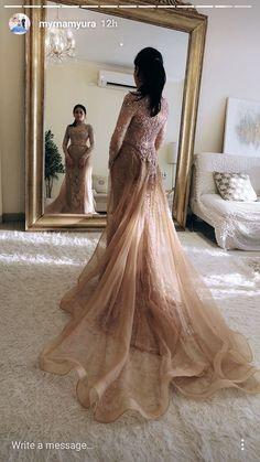 65 Ideas wedding gown modern bridesmaid for 2019 Kebaya Wedding, Muslimah Wedding Dress, Hijab Wedding Dresses, Dream Wedding Dresses, Bridal Dresses, Wedding Gowns, Kebaya Lace, Kebaya Dress, Hijab Gown
