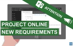 If you are using the amazing Project Online you must read this. August 31, 2017, Project Online will require the latest version of Project Pro to connect to Office 365. In the Message Center in Off…