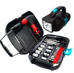 Kit personalizado com ferramenta e lanterna. #brindes #brindemasculino