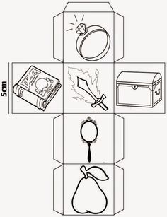 Atividades Adriana : Cubos para contar histórias e produzir texto. Story Cubes, Story Dice, Drama Activities, Country Day School, Math Pages, Pattern Coloring Pages, Hidden Pictures, Kindergarten Writing, Book Week