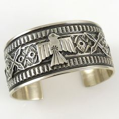 Thunderbird Cuff by Sunshine Reeves - Garland's Indian Jewelry