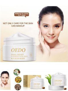 [Visit to Buy] 2017 NEWImported Raw Materials Skin Care Anti Aging Wrinkle Firming Snail Care Snail Moist Nourishing Facial Cream M3 #Advertisement