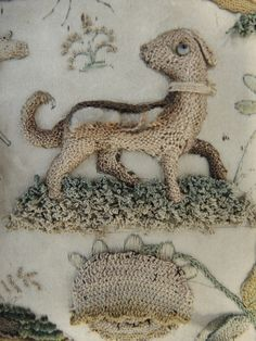 A fascinating 17th century raised embroidery or stump work picture is now on display in the new Art of Living gallery. Kate French, our Assistant Textile Conservator takes us inside the textile conservation studio to discuss the detail on this further in our latest blog.