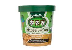 Sea Salted Caramel   Three Twins Ice Cream (all organic)