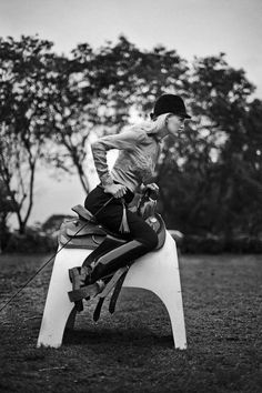 horseback rider - This creative fashion photography series by Pearl Shah follows a beautiful blond horseback rider as she rides her horse and hangs around the stable...