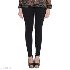 Checkout this latest Leggings Product Name: *Trendy Women's Cotton  Legging* Fabric: Cotton Size: M - 30 in L - 32 in XL - 34 in XXL - 36 in XXXL - 38 in Length: Up To 38 in Type: Stitched Description: It Has 1 Piece Of Legging Pattern: Solid Country of Origin: India Easy Returns Available In Case Of Any Issue   Catalog Rating: ★4.1 (2826)  Catalog Name: Diva Trendy Women's Cotton Leggings Vol 5 CatalogID_180339 C79-SC1035 Code: 642-1393210-915
