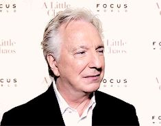 Alan Rickman. You will be missed :'(