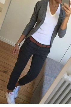 casual outfits for winter ; casual outfits for women ; casual outfits for work ; casual outfits for school ; Simple Casual Outfits, Comfy Casual, Work Casual, Casual Women's Clothes, Casual Clothing Style, Casual Friday Office, Stylish Outfits, Casual Friday Work Outfits, Comfy Work Outfit