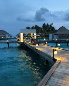 Peace and tranquility at Maldives night #ChevalBlancRandheli #maldives #maldivesresort - maldives pics | Only Maldives