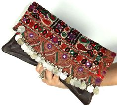 2014 Indian Clutch Bag womens Purses Vintage Clutch Swati e Bling Bling, Embroidery Purse, Potli Bags, Vintage Clutch, Vintage Leather, Vintage Gypsy, Boho Bags, Jute Bags, Leather Clutch