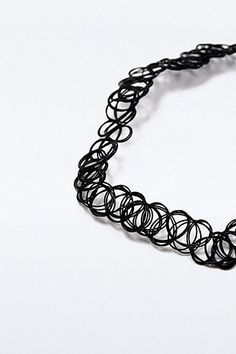 Collier ras du cou Tattoo noir