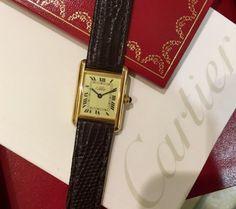 新宿ルミネ店Vintage must de Cartier TANK新入荷トリプルポイント開催中