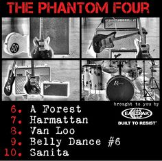 The Phantom Four & The Arguido - Album Sampler - Back (promotional CD, 2011)