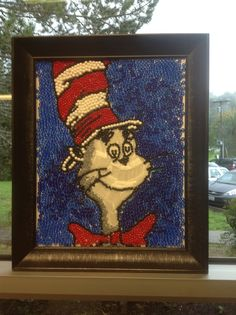 Mosaic made by third graders.
