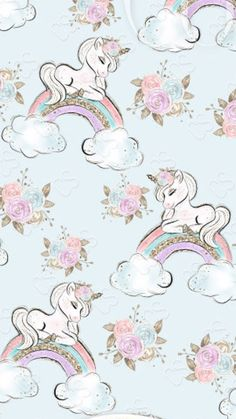 Beautiful unique professional and personal patterns background patterns for design Pink Wallpaper, Wallpaper Backgrounds, Iphone Wallpaper, Unicorn Art, Magical Unicorn, Unicorn Pictures, Boxing Day, Pegasus, Baby Scrapbook