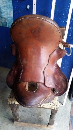 En la #Talabarteria Plinio Ortiz arreglamos su #silla para #montar a #caballo y  la dejamos como #nueva, tráela y compruébalo.