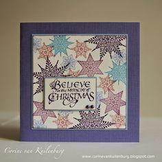 Corine's Galley: Believe - 10 minute card (Chocolate Baroque)