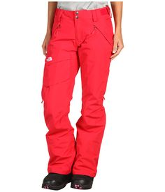 For snowboarding! North Face Women's Freedom LRBC Insulated Pant