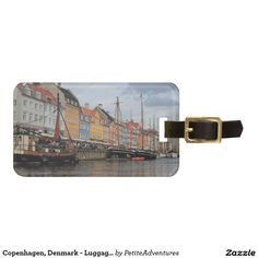 Copenhagen, Denmark - Luggage Tag (affiliate link) Travel | Wanderlust | Travel Blog | Travel Blogger | Europe | Europa | Accessories | Scandinavia | Nordic | Baltic | Bag Tag | ID
