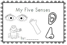My Five Senses~ emergent reader
