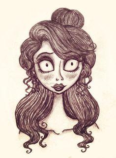 tim burton drawing                                                       …