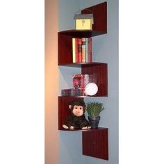 SMALL SPACE RESOURCES: Great Space Saving Corner Bookshelves