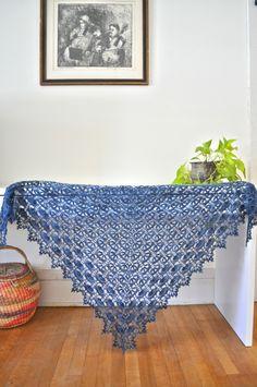 maia shawl, crochet