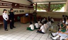 Seguridad pública municipal imparte pláticas de prevención del delito en la escuela primaria república de cuba. http://noticiasdechiapas.com.mx/nota.php?id=83690